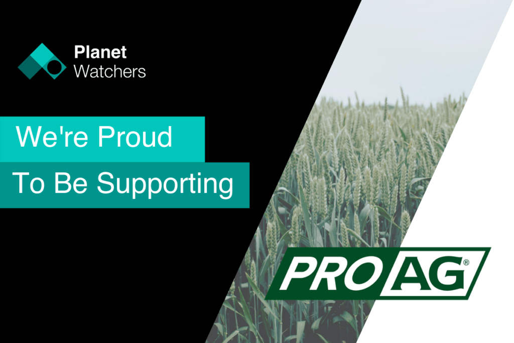 Proud to support ProAg with crop insurance policy claims data