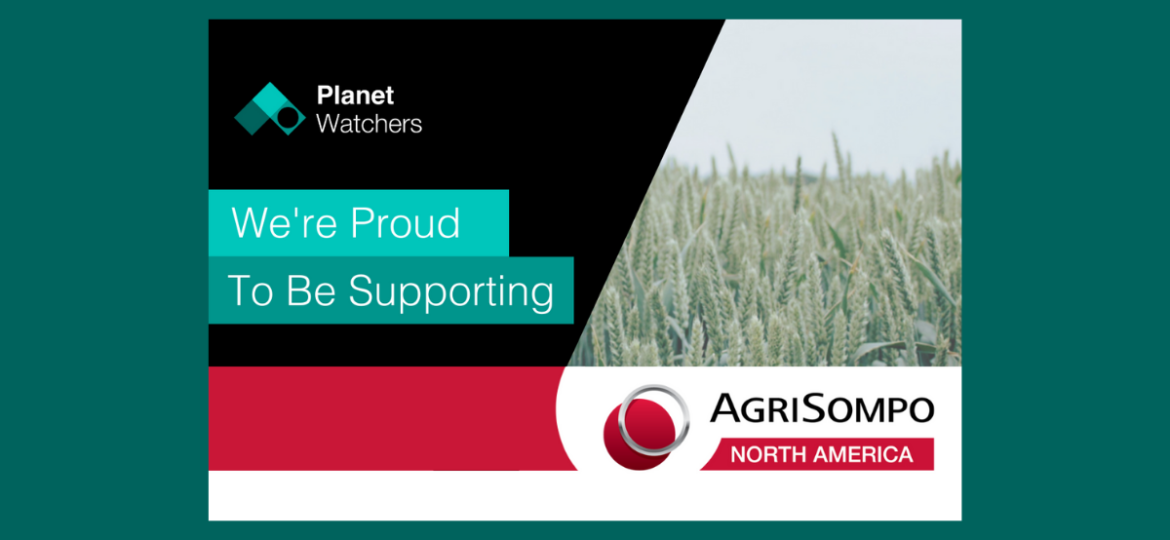 PlanetWatchers proud to be supporting Agri Sompo North America