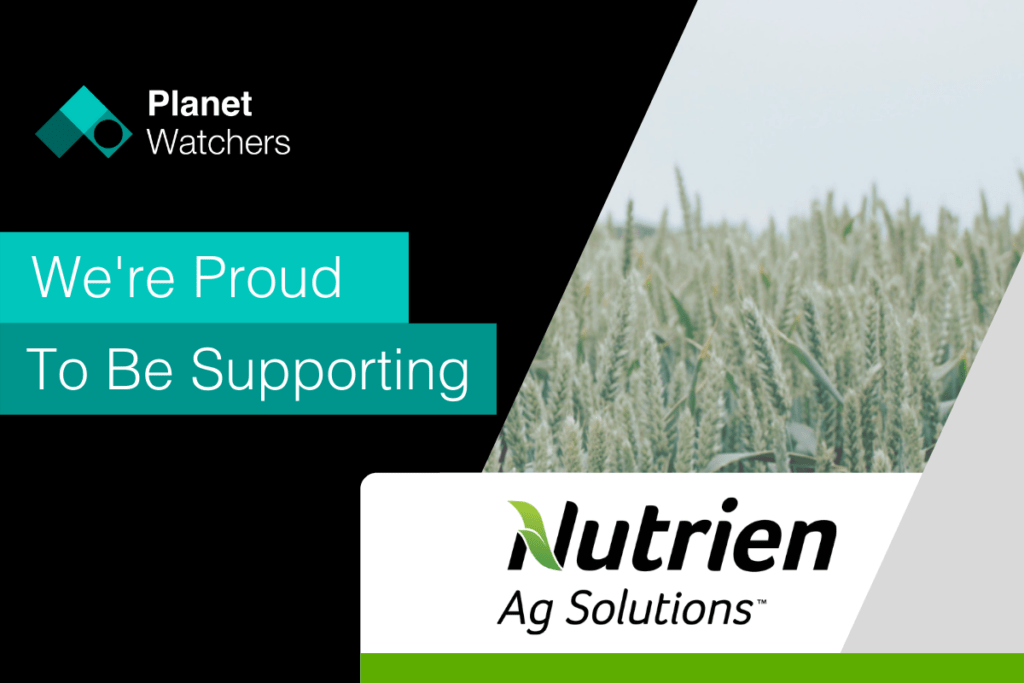Supporting Nutrien Ag Solutions monitoring crop events using Synthetic Aperture Radar led analysis.